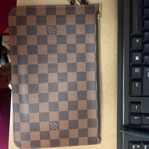 100% Authentic LV clutch - came with the neverfull